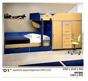 Мебель для детской комнаты Калинковичский Мебельный Комбинат (КМК)
