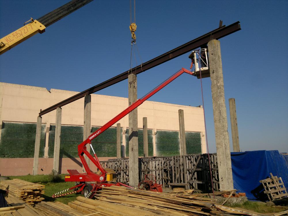 Аренда вышки прицепной Denka Lift 120 12 м. аренда в РБ
