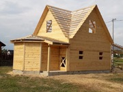 Дома из бруса Настя 6×8 с установкой в Ушачском р-не