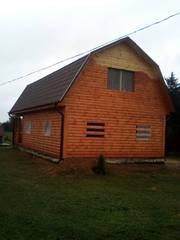 Дом-Баня из бруса готовые срубы с установкой-10 дней Бешенковичи