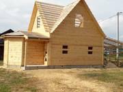 Дом-Баня из бруса готовые срубы с установкой-10 дней Браслав
