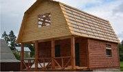 Дом-Баня из бруса готовые срубы с установкой-10 дней Росоны