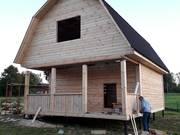 Дом-Баня из бруса готовые срубы с установкой-10 дней недорого Ушачи