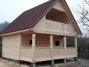 Дом-Баня из бруса готовые срубы с установкой-10 дней Шумилино
