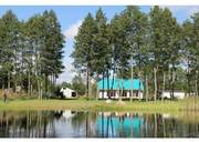 Дом на 1-й береговой линии озера - от города 10 км. Миоры