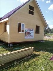 Строим Каркасные Дома под ключ по индивидуальному проекту
