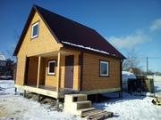 Срубы каркасные и брусовые дома по доступным ценам