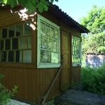 Здание и участок в д. Новые Волосовичи.