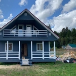 Каркасный дом и баня под ключ в Брасловском районе