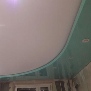 2-уровневые и криволинейные натяжные потолки