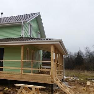 Строим каркасные и брусовые Дома и бани в Богушевске