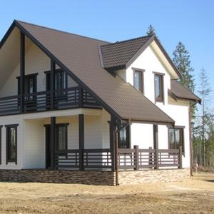 Производство и строительство каркасных домов. Россоны