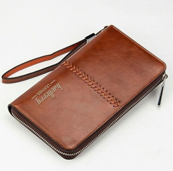 Новинка Идеальный подарок для мужчины кошелек-клатч Baellerry 4