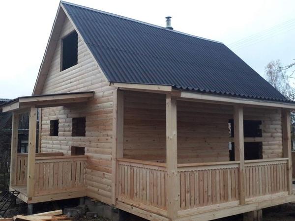 Свайный Фундамент. Дом/Баня под ключ в Глубоком 8