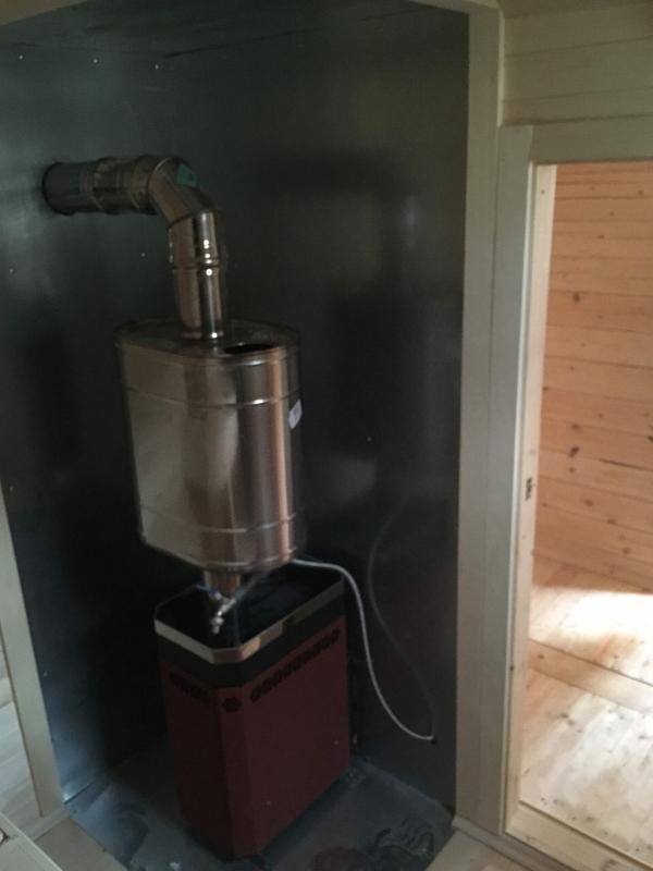 Баня Мобильная за 1 день под ключ установка в Миорах 2
