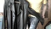 продам натуральный кожаный плащ